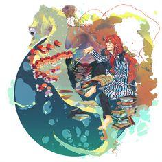 /Fujimoto (Ponyo)/#634406 - Zerochan | Hayao Miyazaki | Studio Ghibli