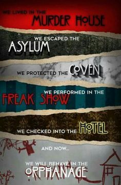 ahs and american horror story Bild