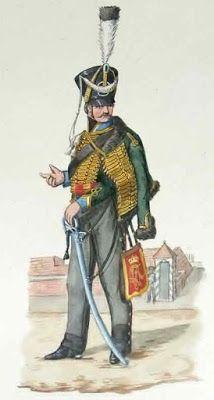 Магдебургский гусарский полк (Magdeburgisches Husaren-Regiment) или «Зелёные гусары» (Grunen Husaren).