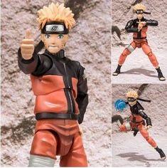 15cm Naruto Shippuden Uzumaki Naruto Action Figures Anime PVC brinquedos Collection Model toys with Retail box Free shipping - Animetee