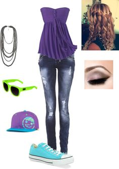 """Bright"" by callico32 on Polyvore"