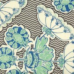 Structure Dandelion by Anna Maria Horner for Free Spirit Fabric- 1/2 Yard -  Black Fabric - Modern - Quilt Fabric - Dandelion Fabric. $5.25, via Etsy.