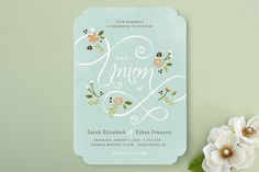 A More Perfect Union Wedding Invitations by Jennifer Wick at minted.com