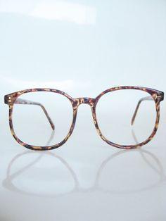 Round Tortoiseshell Glasses Eyeglasses 1980s by OliverandAlexa, $66.00 uhh...i need these
