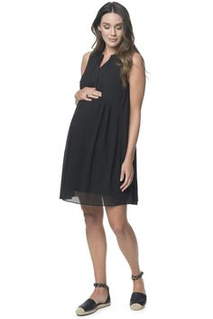 Maternity Black Dress 'The Only One' Dress BAE The Label