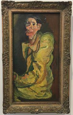 "Chaim Soutine – ""Grotesque"", 1922-1925 | Paris Museum of Modern Art. Seen 2018"