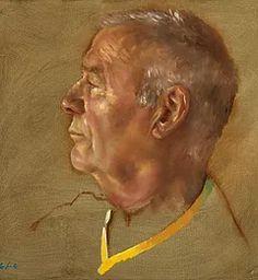 Huiles sur toile de Jean-Christophe Gondouin, portraits.