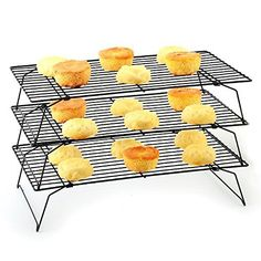 Grab these Stackable 3-Tier Cooling Rack Grid for ONLY $10.88! I have a couple sets of these and LOVE THEM! I like to give them as gifts!  Click the link below to get all of the details ► http://www.thecouponingcouple.com/stackable-3-tier-cooling-rack-grid/ #Coupons #Couponing #CouponCommunity  Visit us at http://www.thecouponingcouple.com for more great posts!