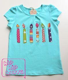 ♥ Absolut unverzichtbares Geburtstags-Shirt für die 6jährige Partylöwin. ♥ Bis max. 6 Kerzen zum o.a. Preis, jede zusätzliche Kerze gibt's für 1,50 €. Den *Aufdruck* des Namens auf den Rücken...