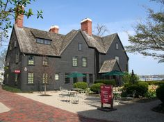 Salem, MA  - House of the Seven Gables, visited by Nathaniel Hawthorne.  One hour by ferry from Boston.