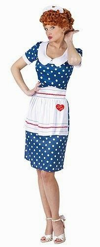 NEW! 50s Housewife Costumes ... 9 styles, plus wigs