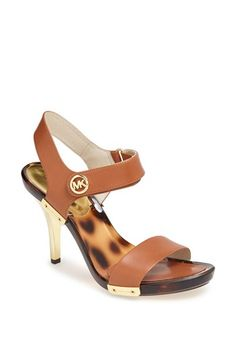 MICHAEL Michael Kors 'Lani' Patent Leather Sandal available at #Nordstrom