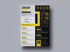 Free Multicolor Resume Template by Andy Khan ---CLICK IMAGE FOR MORE--- resume how to write a resume resume tips resume examples for student Modern Resume Template, Resume Design Template, Cv Template, Creative Resume Templates, Psd Templates, Portfolio Web, Portfolio Resume, Portfolio Examples, Cv Pdf