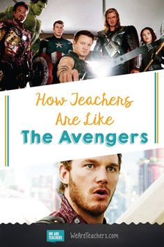 How Teachers Are Like The Avengers - WeAreTeachers. I'm totally Gamora. This is funny! Teachers Toolbox, New Teachers, Teacher Memes, Teacher Stuff, Teacher Problems, Teaching Chemistry, Middle School Teachers, High School, Student Teaching