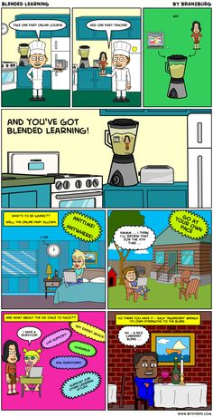 The Innovative Educator: Blended Learning! A new cartoon from Jeff Branzburg
