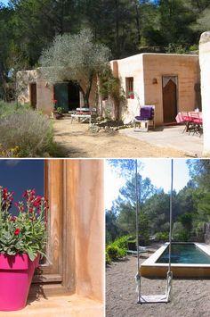 Une maison d'été à Ibiza