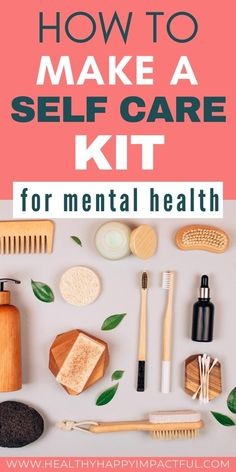 How to make a self care kit for your mental health. The best self care basket and self care box ideas to uplift and nourish you just when you need it. 25 diy self care kit ideas that are luxurious, yet inexpensive, plus what's in my box, and ready made subscriptions. #selfcarekitdiy #selfcareboxideas #selfcarebasketideasforwomen Mental Health Illnesses, Mental Health And Wellbeing, Good Mental Health, Health And Wellness, Health Tips, Mental Illness, Care Box, Mental Health Awareness Month, Healthy Lifestyle Motivation