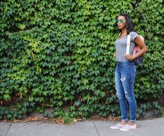 Fashion blogger - The Wicked Pink 4th of July outfit
