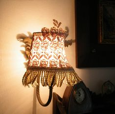 Mintook Vintage wall side Lamp Shade in white/cream by Mintook, $37.00