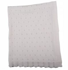 Beautiful layette knitted blankets available in white.Size: x Knitted Blankets, Mattress, Bed, Furniture, Beautiful, Home Decor, Products, Layette, Decoration Home
