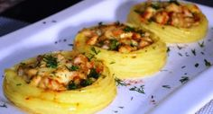 "Potato ""Nests"" with Chicken - Impress everyone at home! - Free Restaurant Recipes"