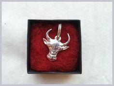 Silver bull pendant ;)