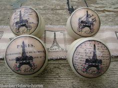 Parisian inspired cabinet | door knobs