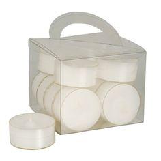 Lot de 12 chauffe-plats Ø38 mm blanc polycarbonate