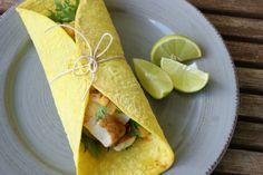 Fisketaco med varm og spicy mangosalsa
