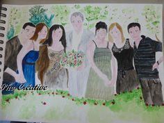 Peinture à l'aquarelle - non terminée