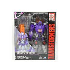 Transformers Titans Return Nucleon & Galvatron