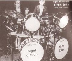 Nigel Olsson - elton john's long time drummer