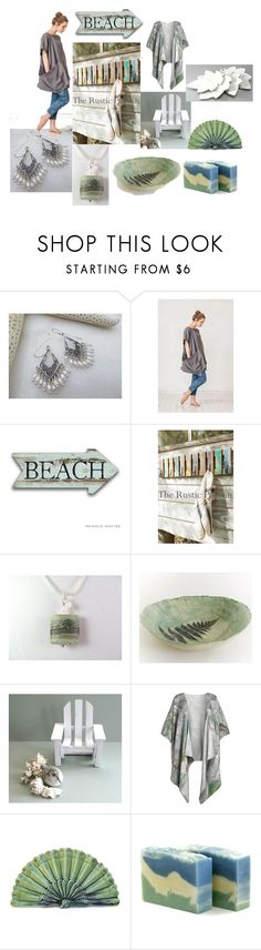 """To the Beach!"" by inspiredbyten ❤ liked on Polyvore featuring WALL"