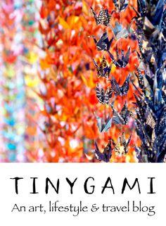 tinygami | Miniature origami art by Stacie Tamaki