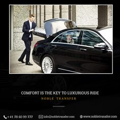 Comfort Is The Key To Luxurious Ride. Book your next ride with noble transfer and enjoy your trip hassle-free. Travel Goals, Travel Style, Visit Switzerland, Cities In Europe, Business Class, Holiday Travel, Luxury Lifestyle, Luxury Cars, Key