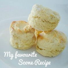 I've tried a few different scone recipes over the years, and this is my favourite no fail scone recipe.