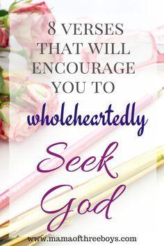 Seeking God First |