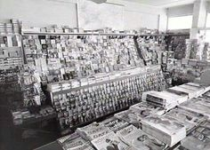 Interior Martins News agency 1960 Darwin, Photo Wall, News Agency, Australia, History, Frame, Interior, Places, Picture Frame
