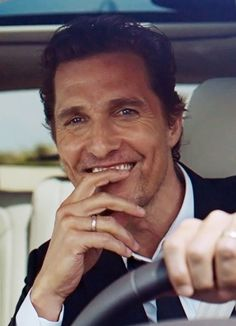 :) I love his smile... Matthew McConaughey