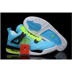 d0d407a3025095 Air Jordan 4 White Chlorine Blue Volt Black White New Jordans Shoes 2013. cheap  jordan 11 lebron ...