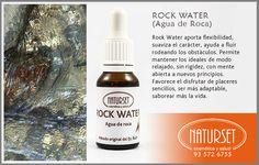 Rock Water - Flores de Bach de NATURSET #floresbach #exito #naturset #tratamientos.