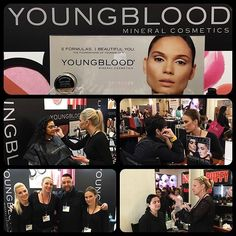 @ybcosmetics in action at @themakeupshow in NYC with @philipluqmakeup @evelinekarlsen @lundekristine @tkmoods @kellyclarkmakeupartist #mineralmakeup #makeupartist #newyork #nyc #themakeupshow #tmsnyc #tmsny #promakeupartist #ybcosmetics @philipluqmakeup