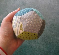 Patchwork Ball Tutorial