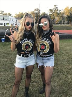 Rock and Roll Theme Outfit Sorority Bid Day Theme