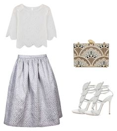 silver dust II by zipit21 on Polyvore featuring moda, Giuseppe Zanotti and KOTUR