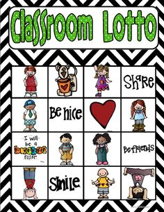 Classroom Compliment Lotto
