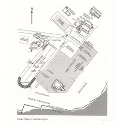 map shows location of Hagia Sophia
