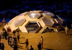The Roskilde's Beautiful Geodesic Dome Looks Like a Tortoise in a Field | Inhabitat - Sustainable Design Innovation, Eco Architecture, Green...