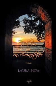 """Laura Popa and the book """"Rekviem för en romantiker""""."""