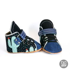 Velcro Hightop Velcro Shoes for babys and Toddlers Toddler Sneakers, Toddler Shoes, Baby Shoes, Dress Up Boxes, Velcro Shoes, Adventure Gear, Custom Shoes, Mask For Kids, Little Man